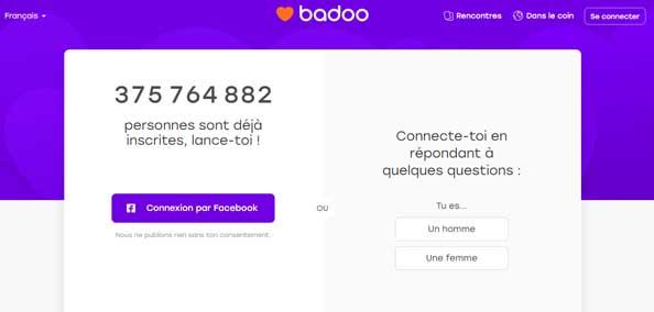www.badoo.fr Se connecter à mon compte en ligne