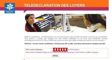 Qlweb-caf.fr espace bailleur