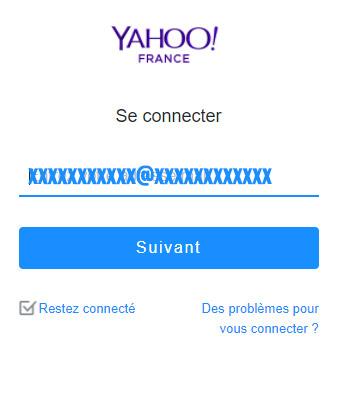connexion yahoo