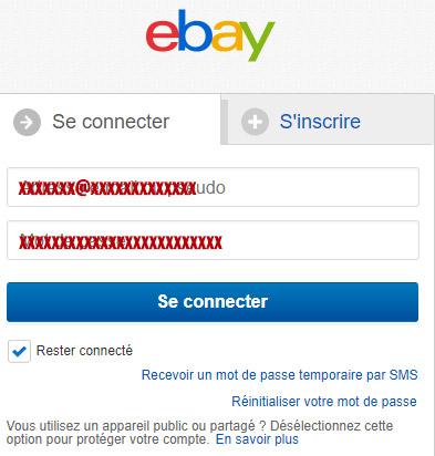 connexion ebay
