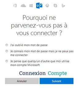 se connecter à hotmail.com