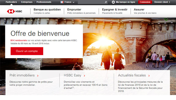 HSBC ma banque en ligne