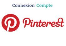 connexion au compte Pinterest