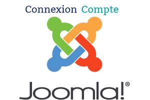 se connecter au site joomla