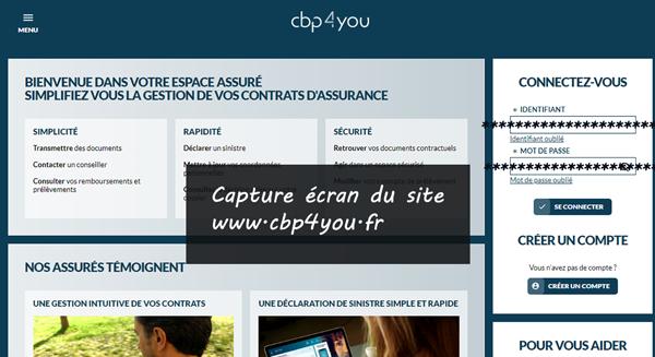 www.cbp4you.fr : connexion à espace assurésCBP solutions