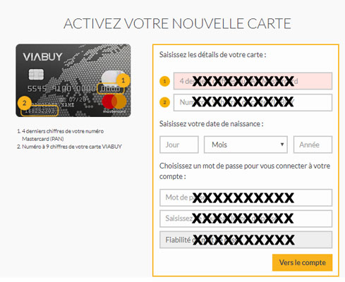 Comment activer ma carte Viabuy?