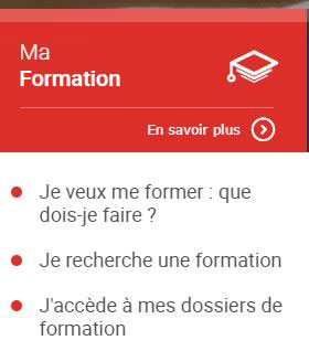 liste formation cpf