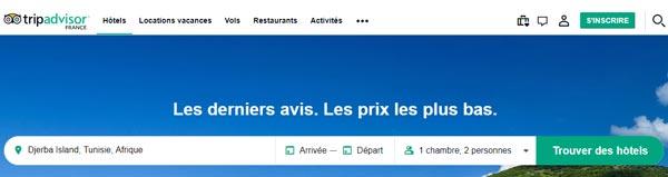 Compte tripadvisor ca français
