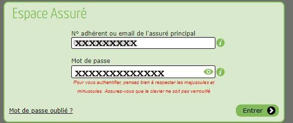 Www.baloo-sante.fr espace client