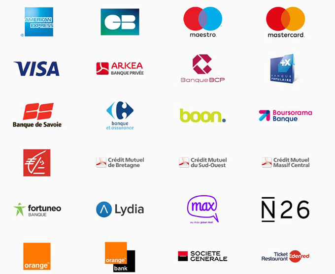 liste banques partenaires apple pay