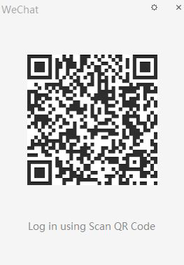 login scan wechat