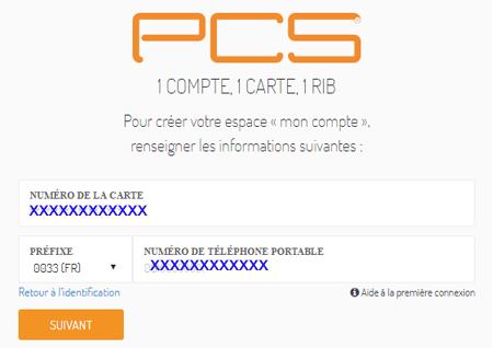Recharge PCS gratuit
