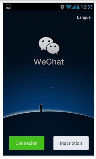 sign up wechat