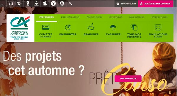 www.ca-pca.fr ma banque