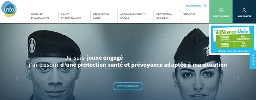 site officiel mutuelle unéo www.Groupe-uneo.fr