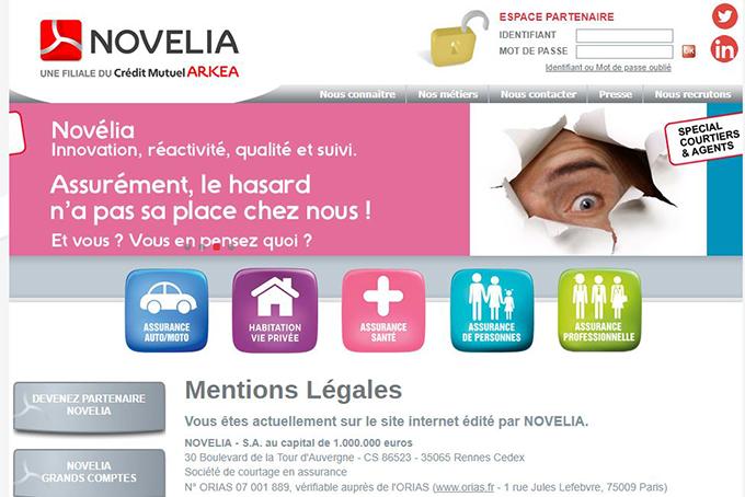 Novelia assurance auto