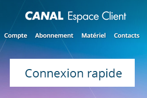 Connexion à l'espace client canal +