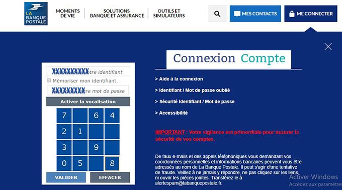 Www Labanquepostale Fr Acces Espace Client Banque Postale Particulier