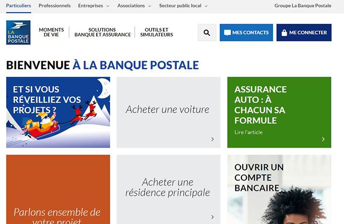 banque postale service client