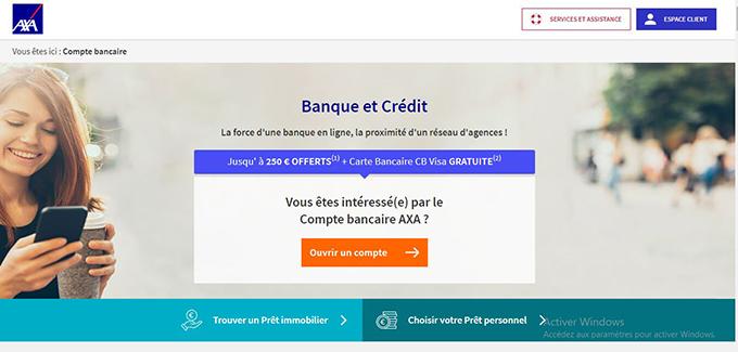 ouvrir compte axa banque en ligne