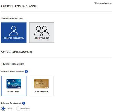 compte particulier banque postale