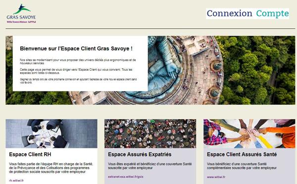 accès au portail de connexion www.espace-client.grassavoye.com