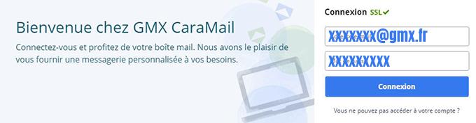 gmx connexion mail
