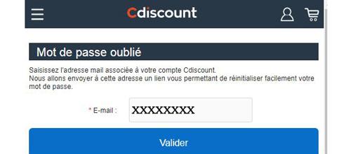 Récupérer mon code secret coupdepouce.com