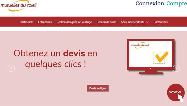 site de la mutuelle : www.mutuellesdusoleil.fr