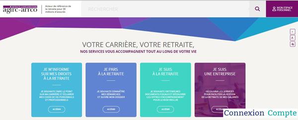 portail de retraite complémentairewww.agirc-arrco.fr
