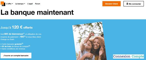 portail banque mobile : www.orangebank.fr