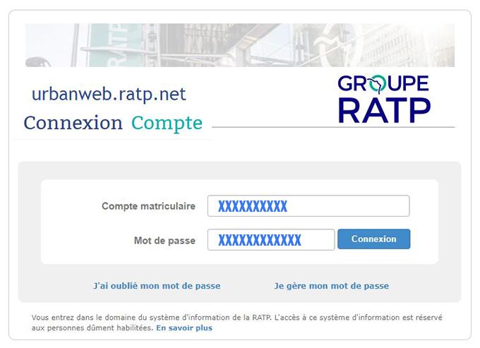 urbanweb ratp.net