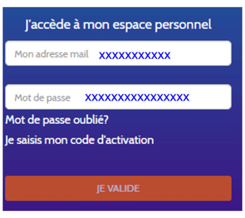 Visale.fr espace personnel