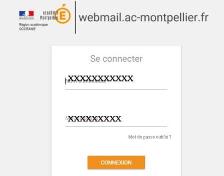 Accéder au webmail Montpellier