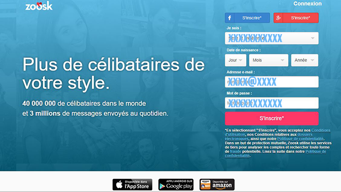 zoosk application rencontre en ligne