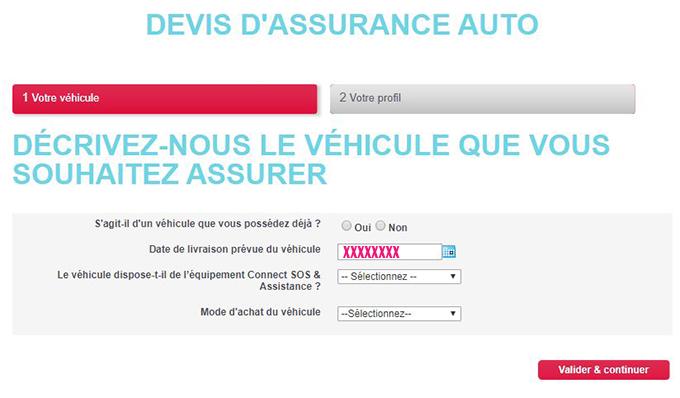 souscription contrat assurance auto citroen en ligne