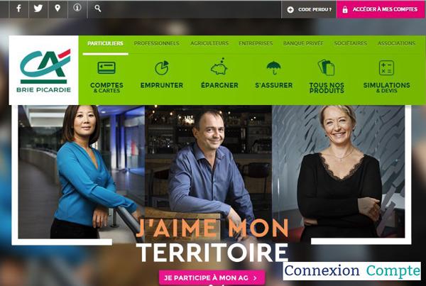 site banque en ligne www.ca-briepicardie.fr