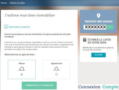 Estimation immobiliere sur foncia.fr