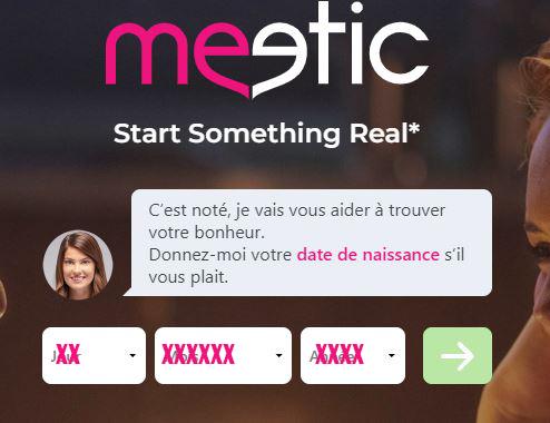 comment s'inscrire sur meetic.fr