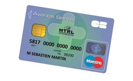 MTRL Mutuelle carte avance santé