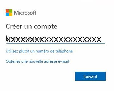 créer un compte msn hotmail