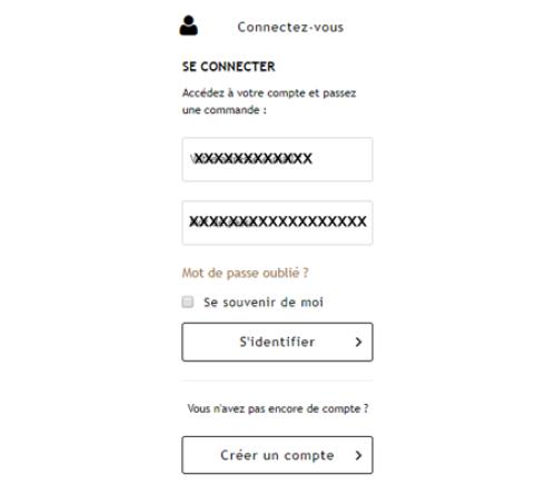 Connexion à mon compte client nespresso