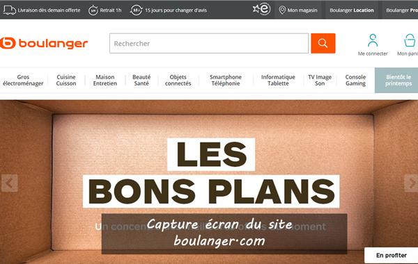 www.boulanger.com : site de la boutique