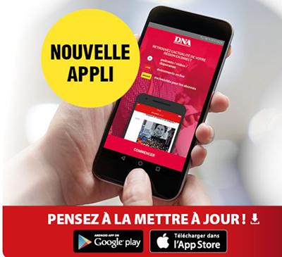 application mobile dna