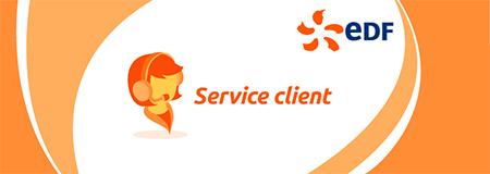 Adresse edf service client