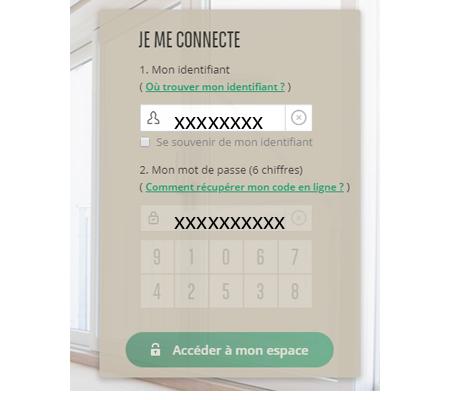 Connexion espace assurance cardif