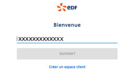 Accès espace client edf particulier