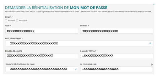 Trouver code d'accès ca-norddefrance.fr