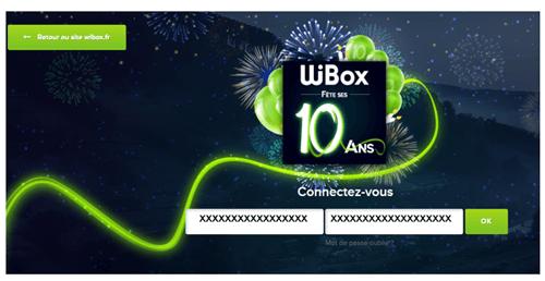 Messagerie wibox