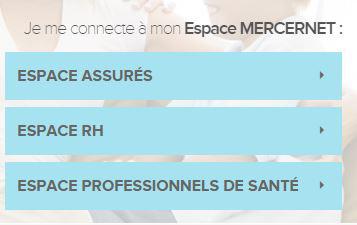 www.mercernet.fr espace assuré